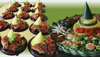 2. menu for banner Tumpeng