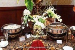 Semeru-5 catering buffet